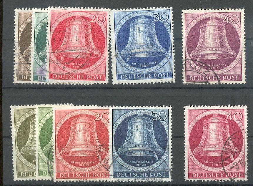 BERLIN-1951-75-79-82-86-GLOCKE-gest-290-A0297