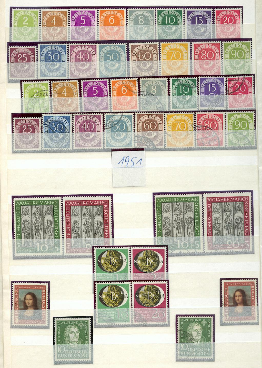 BUND-1949-1982-und-gest-je-KOMPLETTE-SAMMMLUNG-R8827d