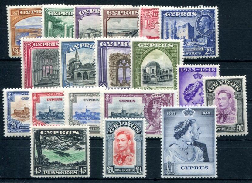 ZYPERN-1934-118-132-153-154-157-158-gute-WERTE-S2629